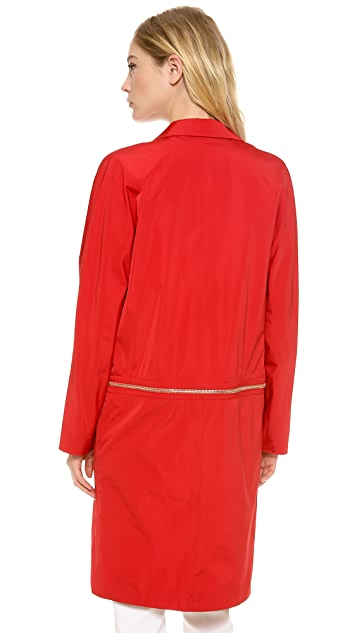 Giambattista Valli Zip Off Coat