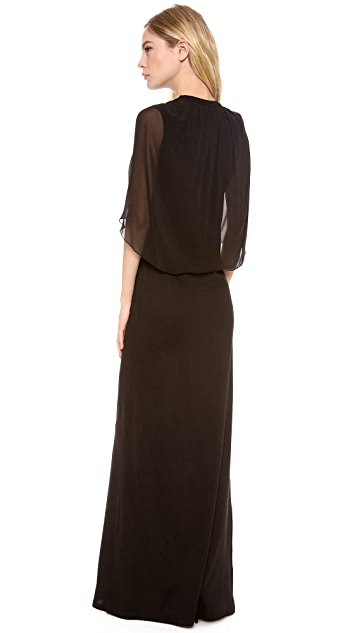 Giambattista Valli Cap Sleeve Gown