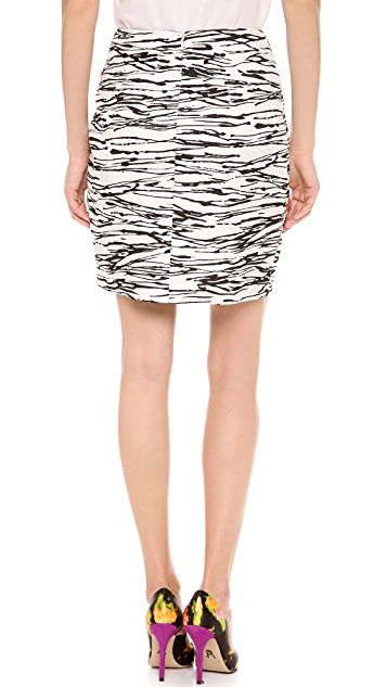 Giambattista Valli Asymmetrical Skirt