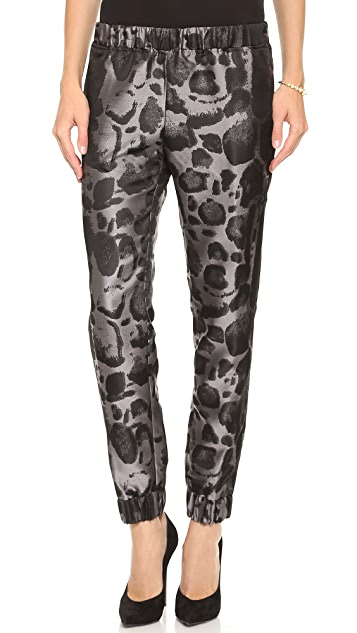 Giambattista Valli Leopard Jogging Pants