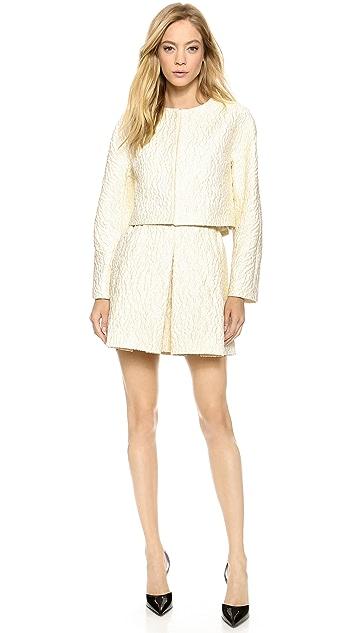 Giambattista Valli Pleated Miniskirt