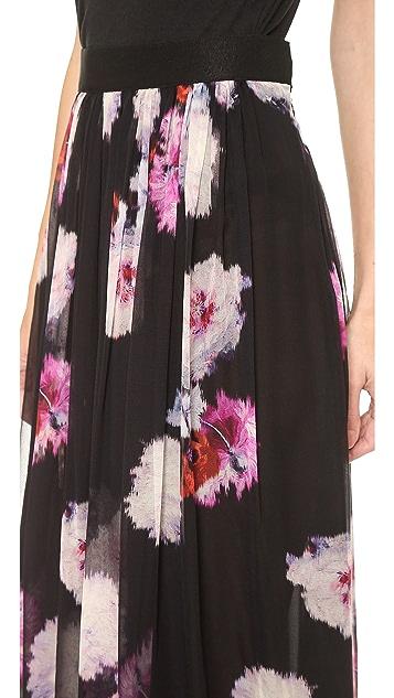 Giambattista Valli Floral Maxi Skirt