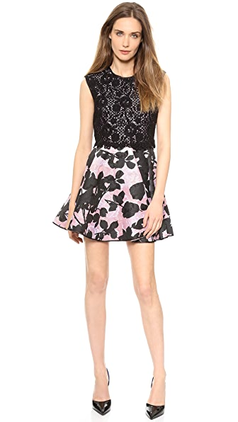 Giambattista Valli Sleeveless Brocade Dress