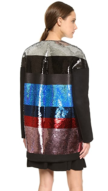 Giambattista Valli Sequin Coat