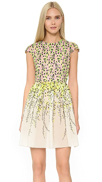 Giambattista Valli Cap Sleeve Dress