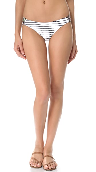 Giejo Mixed Ruched Bikini Bottoms