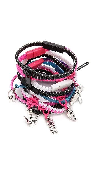 Gift Boutique Zipology Bracelet Set