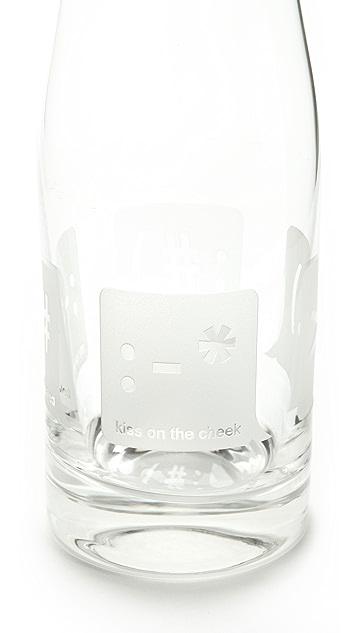 Gift Boutique TXT U Glass Carafe