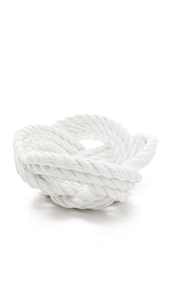 Gift Boutique Knotted Rope Bowl