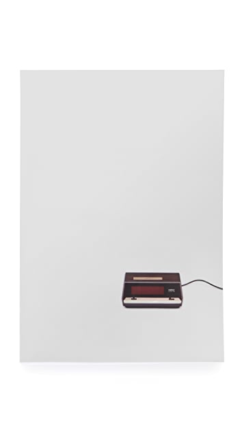 Gift Boutique Flat Life Poster Clock