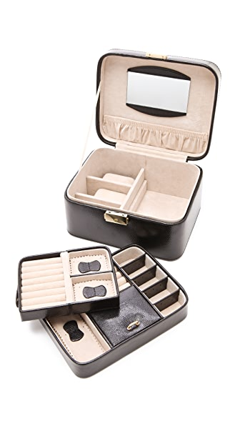 Gift Boutique Jewelry Travel Box - Black