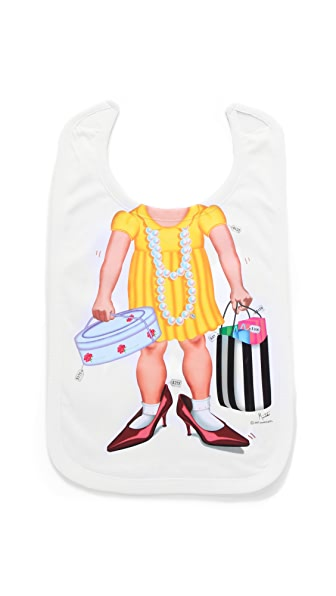 Gift Boutique Little Shopper Bib