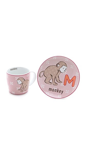 Gift Boutique Animal Mug & Plate Set