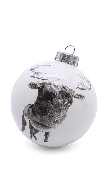 Gift Boutique Reiko Kaneko Rusty Reindeer Christmas Bauble Ornament
