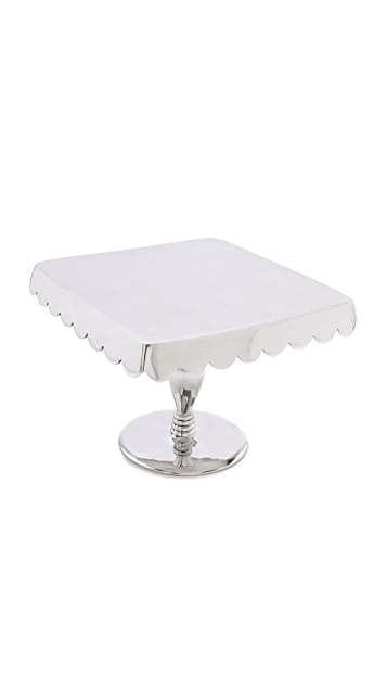 Gift Boutique Lunares Scallop Cake Pedestal