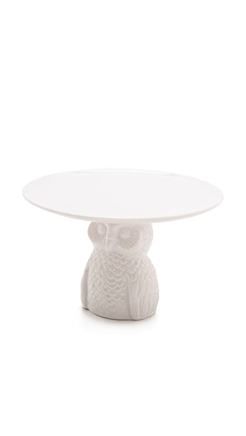Gift Boutique Take The Cake Owl Plate