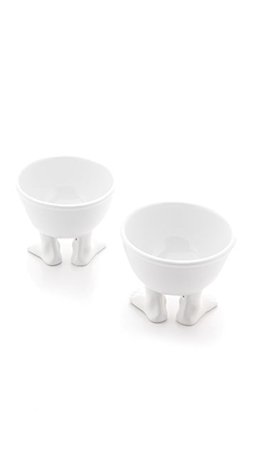 Gift Boutique Small Footed Bowl Set