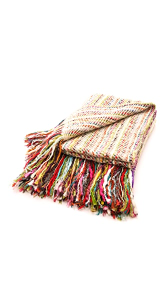 Gift Boutique Courchevel Throw Blanket