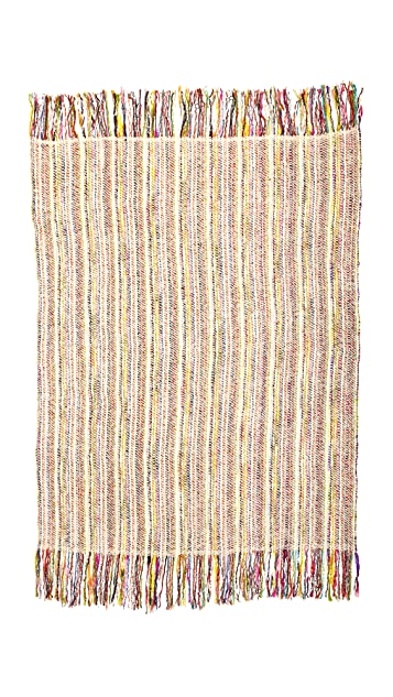 Gift Boutique Courchevel Throw Blanket