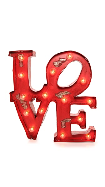 Gift Boutique Love Light Sign