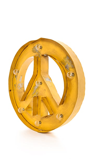 Gift Boutique Peace Light Sign