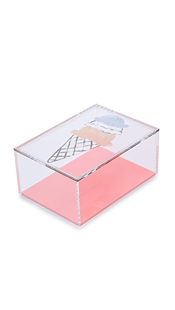 Gift Boutique Sweet Treats Ice Cream Pencil Box