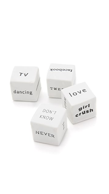 Gift Boutique Vice Dice Assorted Set