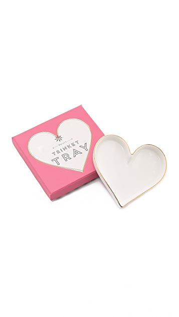Gift Boutique Heart Trinket Tray