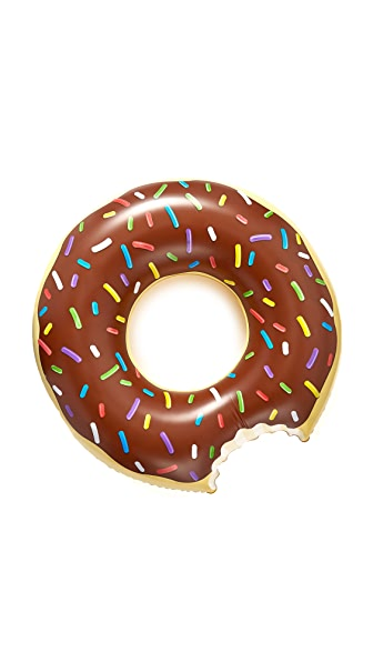 Giant Chocolate Donut Pool Float