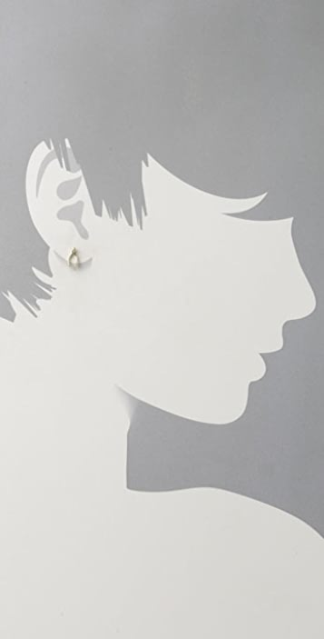 Giles & Brother Tiny Wishbone Studs