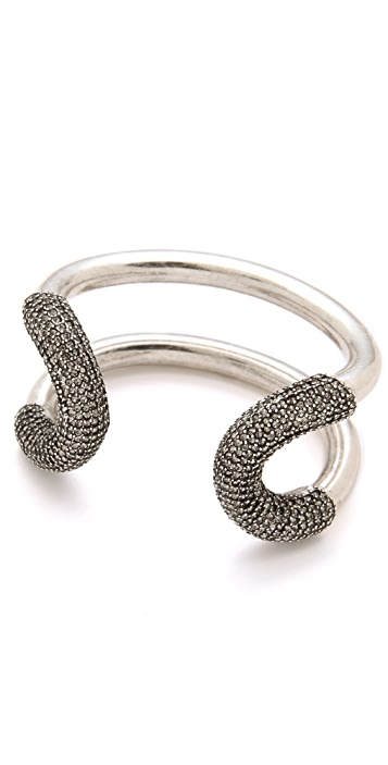 Giles & Brother Cortina Cuff with Pave