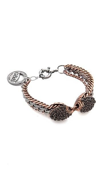 Giles & Brother Encrusted Circe Bracelet