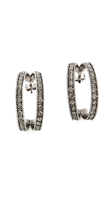 Giles & Brother Ceres Hoop Earrings
