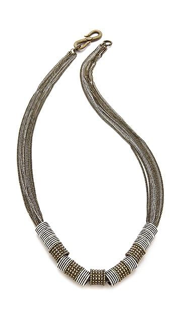 Giles & Brother Multi Chain Trove Necklace