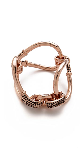 Giles & Brother Encrusted Loop Bracelet