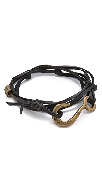 Giles & Brother Lash Hook Wrap Bracelet