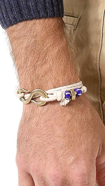 Giles & Brother S Hook Wrap Bracelet