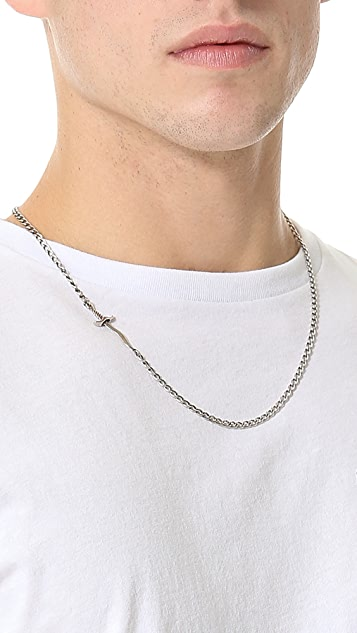 Giles & Brother Embedded Dagger Necklace