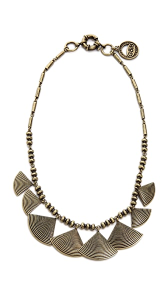 Giles & Brother Graduated Fan Collar Necklace