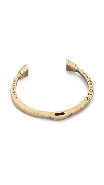 Giles & Brother Skinny Hooves Cuff Bracelet