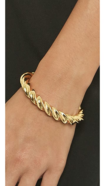 Giles & Brother Oversized Twist Cuff Bracelet