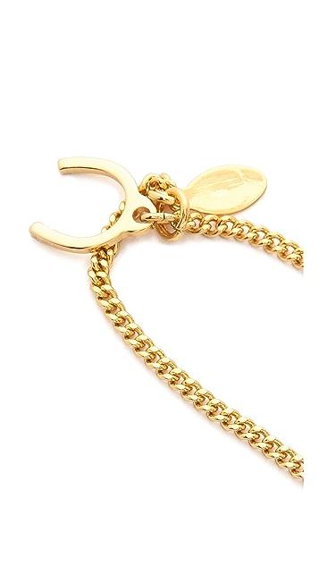Giles & Brother Stone Pied De Biche Pendant Necklace