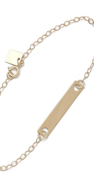 ginette_ny Mini Baguette Bracelet