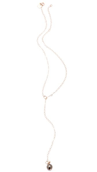ginette_ny Fool's Gold Short Sautoir Necklace