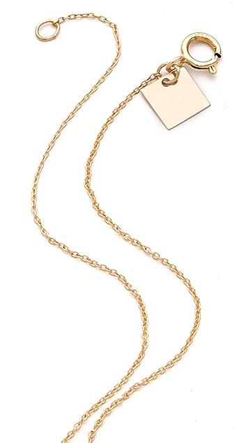 ginette_ny Mini Masai Chain Necklace