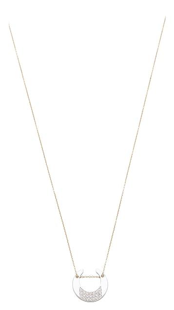 ginette_ny Diamond Masai Chain Necklace