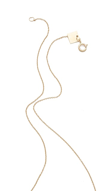ginette_ny Tube Bead Necklace with Cultured Freshwater Pearls