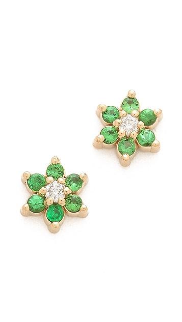 ginette_ny Hope Star Stud Earrings