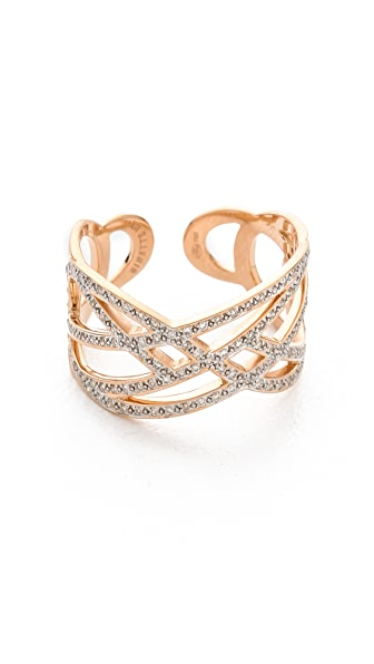 ginette_ny Volute Diamond Ring