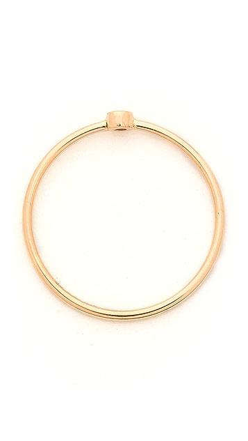 ginette_ny Mini Lonely Diamond Ring